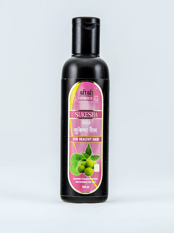 Buy 2 x Sri Sri Sukesha Hair Oil 100ml each online for USD 16.37 at alldesineeds