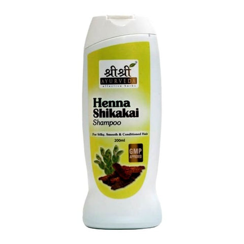 Buy 2 x Sri Sri Henashikkai Shampoo 200ml each online for USD 21.25 at alldesineeds