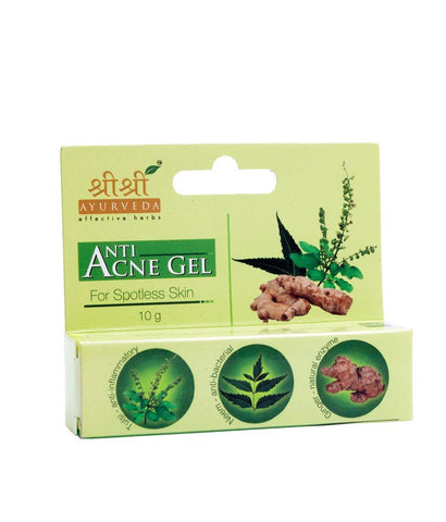 Buy 2 x Sri Sri Anti Acne Gel 10g each online for USD 11.28 at alldesineeds