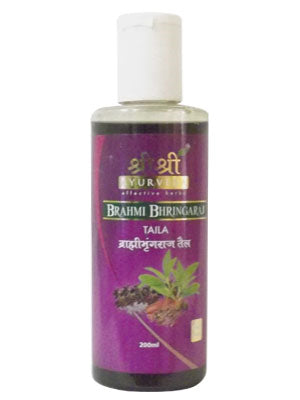 Buy 2 x Sri Sri Brahmi Bringaraj Taila 200ml each online for USD 21.79 at alldesineeds