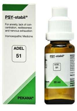 1 x ADEL Germany Adel 51 - PSY STABIL DROPS, 20ml each - alldesineeds