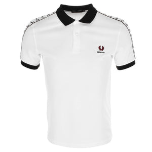 Fred Perry Polo T Shirt White - Germany