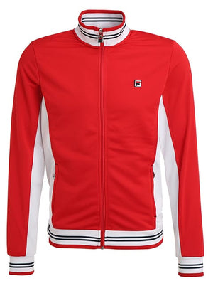 Fila OLE - Tracksuit top - red/white