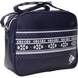 Dunlop Holdall Mens Messenger Shoulder Despatch Bag Navy & White