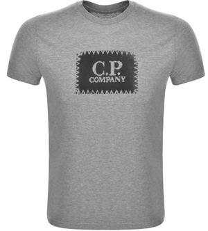 CP Company crew neck T-Shirt - Grey