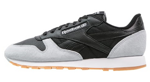 Reebok Classic Retro Trainers - Black/Cloud Grey