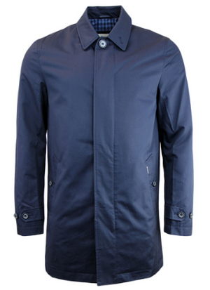 BEN SHERMAN Mod Cotton Gaberdine Jacket
