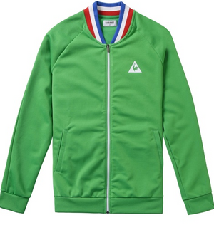 le coq sportif ASSE Full zip - Track Top - Saint-Étienne Green