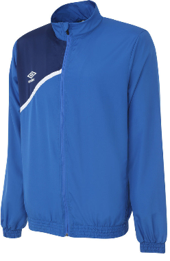 Mens Woven  Jaacket - ROYAL/BLUE/WHTE