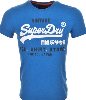 Superdry Shirt Shop Duo Retro T Shirt