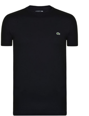 Lacoste SHORT SLEEVE T SHIRT - Black