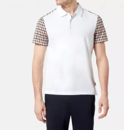 RUTLAND VICUNA DETAIL POLO - White