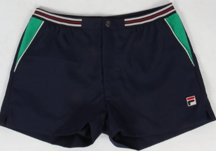 FILA VINTAGE Shorts - Navy/Green
