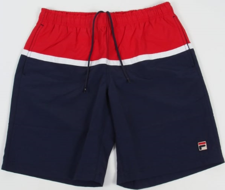 FILA VINTAGE Shorts - Navy/Red/White