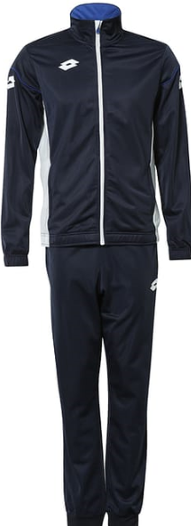 Lotto Casual STARS EVO Tracksuit - Navy / Royal
