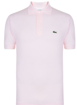 Lacoste SHORT SLEEVE POLO SHIRT - Pink