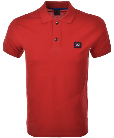 Paul & Shark Short Sleeved Polo - Red