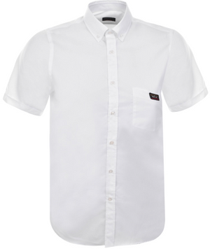 Paul & Shark Short Sleeved Shirt - White