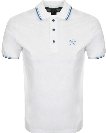 Paul & Shark Short Sleeved Polo - White