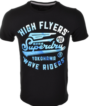 Superdry High Flyers Wave T Shirt
