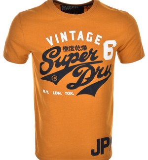 Superdry Stacker Retro Classic T Shirt