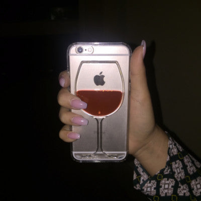 iPhone 6 series wine lovers case