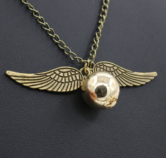 Harry Potter Inspired Quidditch Necklace