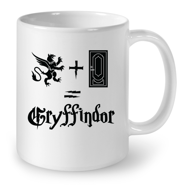LIMITED EDITION - GRYIFFNDOR SYMBOL - CERAMIC MUG