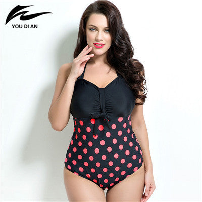 73ef2b1b49ba0 Buy 2016 summer style Womens Plus Size One Piece Swimsuit Swimwear Padded  Monokini women Bathing Suits Large Bust Swimsuits at ZuggaTea for only   34.72