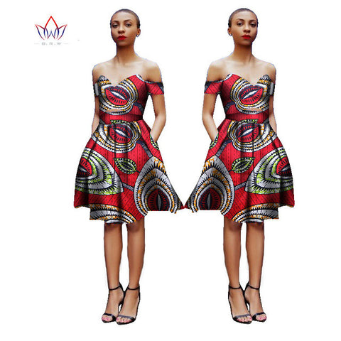 ca48e2aa5934e Pretty Women Suits New Fashion African Printed Wax 2 Piece Set Women Crop  Top And Skirt