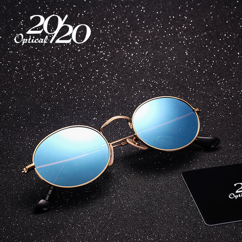 20/20 Brand Classic Polarized Sunglasses Men Women brand designer Vintage Eyewear Oval Driving Unisex Sun Glasses