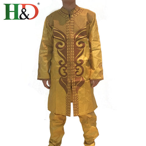 (Free shipping)African bazin men Burst models fashion popular rich African Clothing Traditional Basin hot PH47
