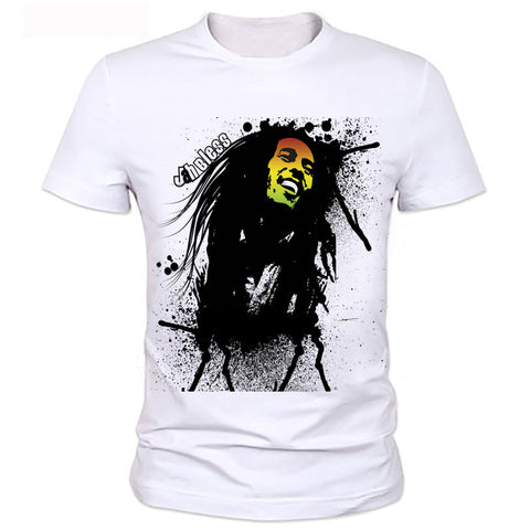 Factory direct sale 2016 hot sale t shirt BOB marley short sleeve 3D print street hip hop style breaking bad t shirt 76#