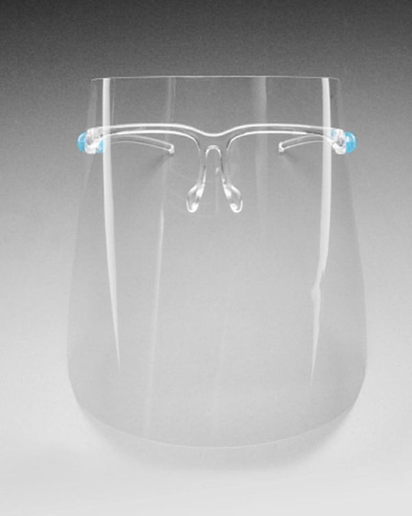 3051  Face shield with glasses frames
