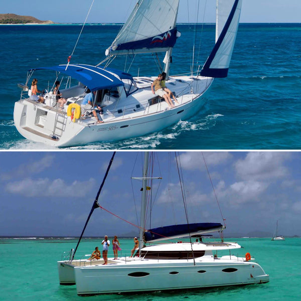 Monohull vs Catamaran:  Which is Best for Cruising?