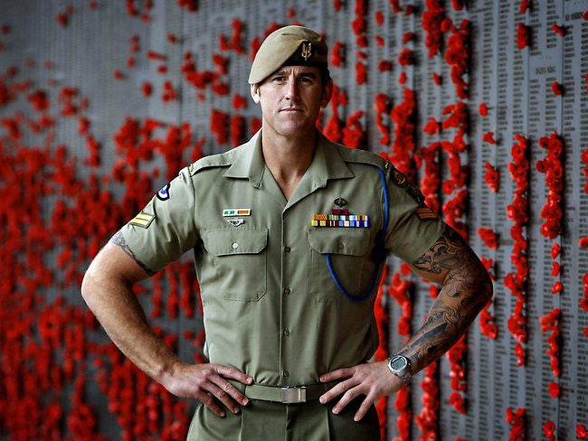 Corporal Benjamin Roberts-Smith, VC, MG