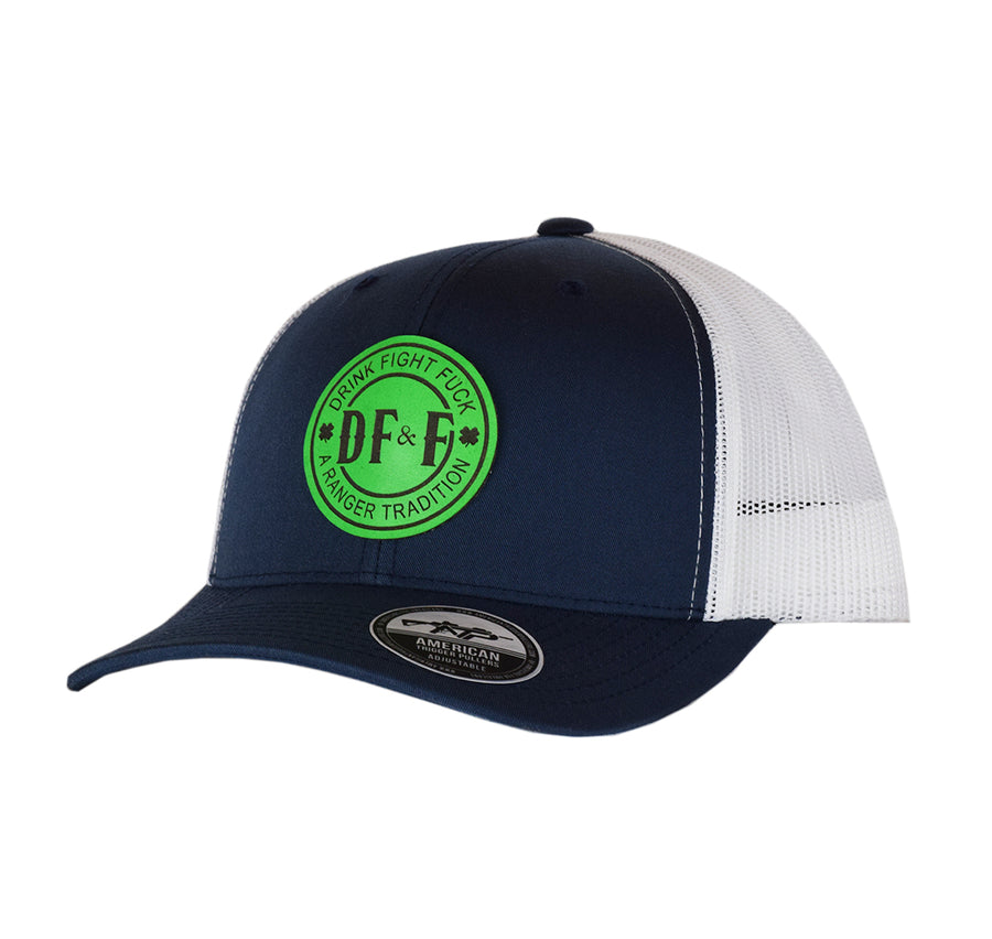 DF&F Leather SnapBack