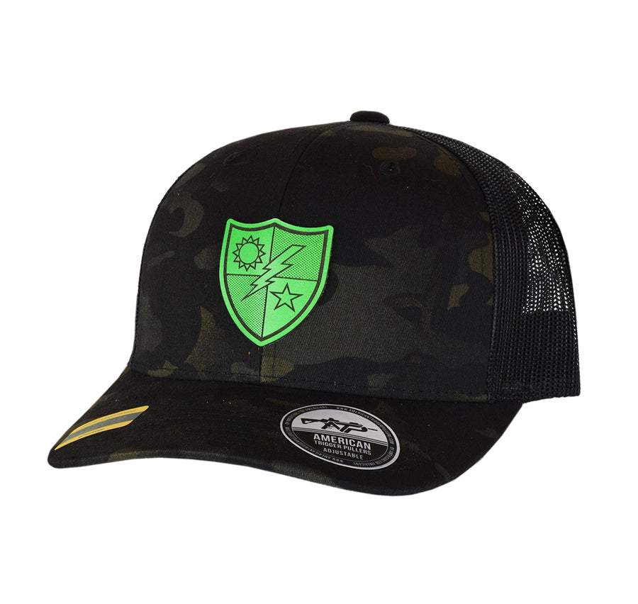 75th DUI Leather SnapBack
