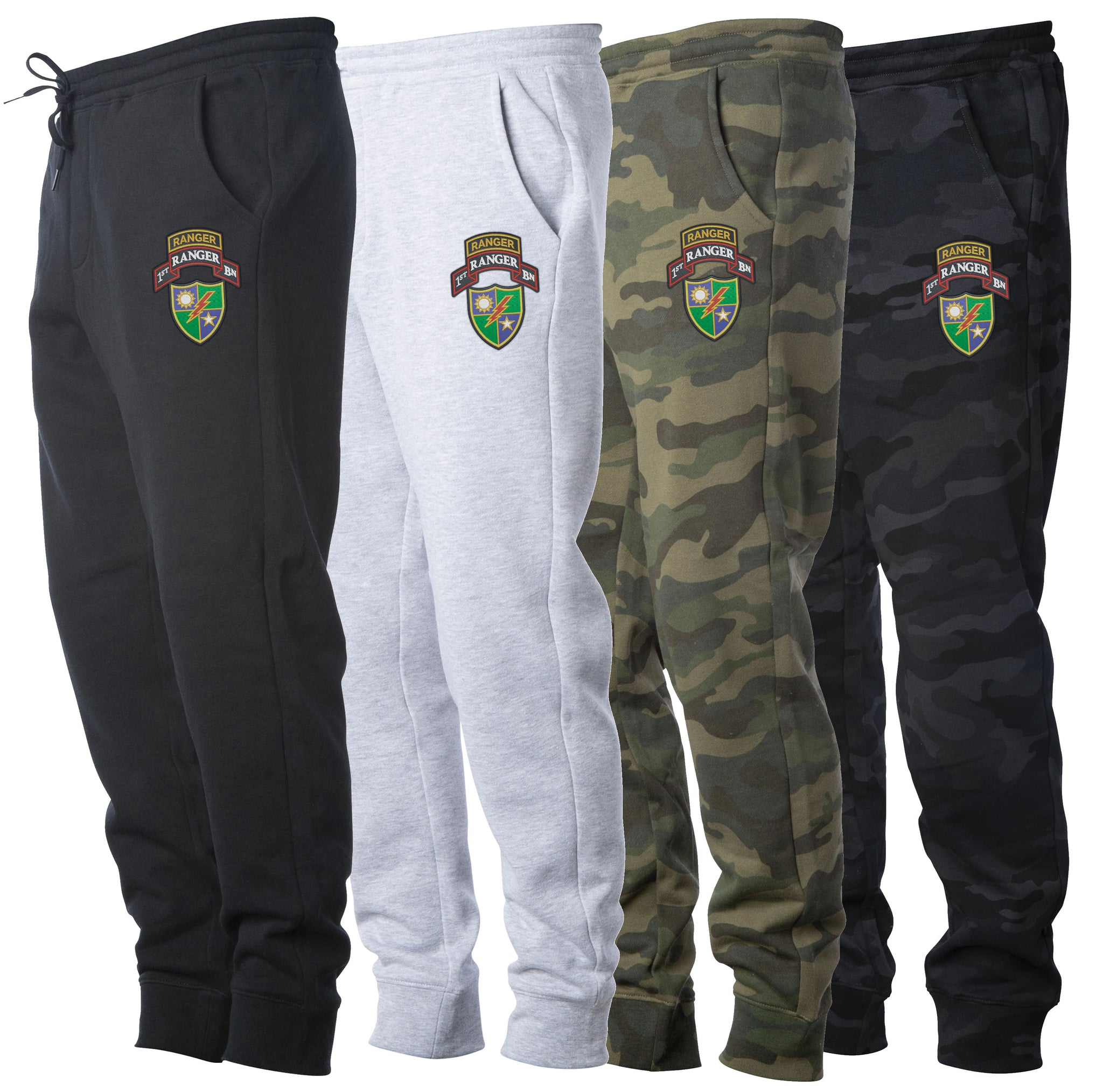 1st Batt Ranger Scroll Sweat Pants