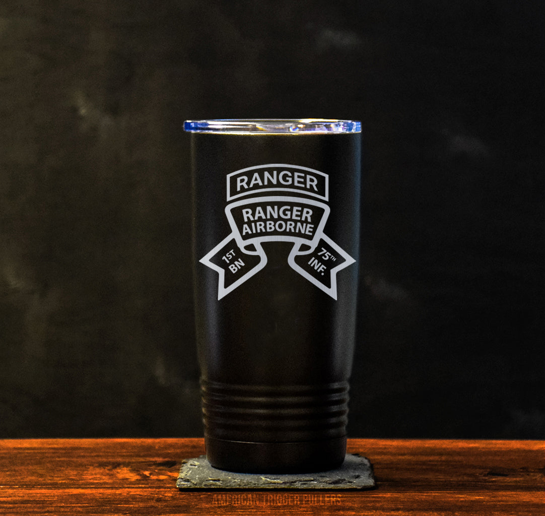 Ranger Old Scroll Tumbler