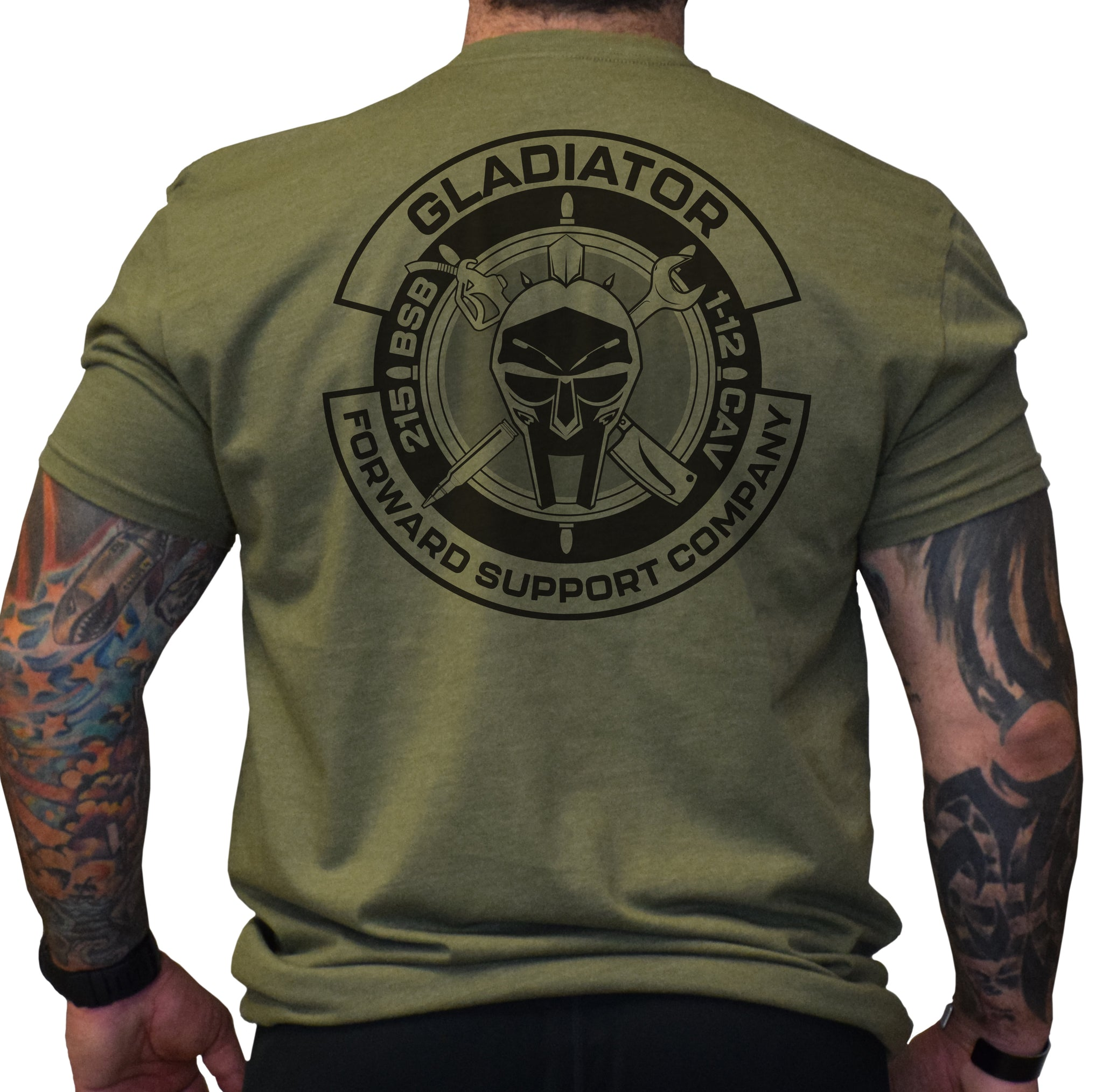 215 BSB Gladiator Shirt