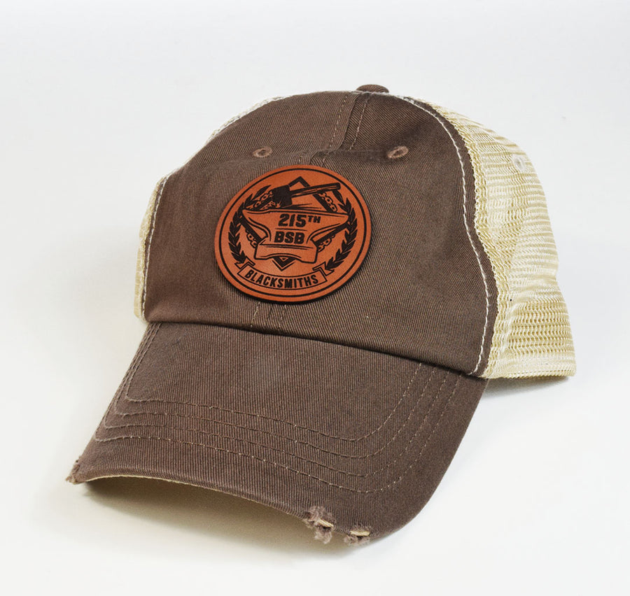 215th Blacksmiths Circle Patch Hat