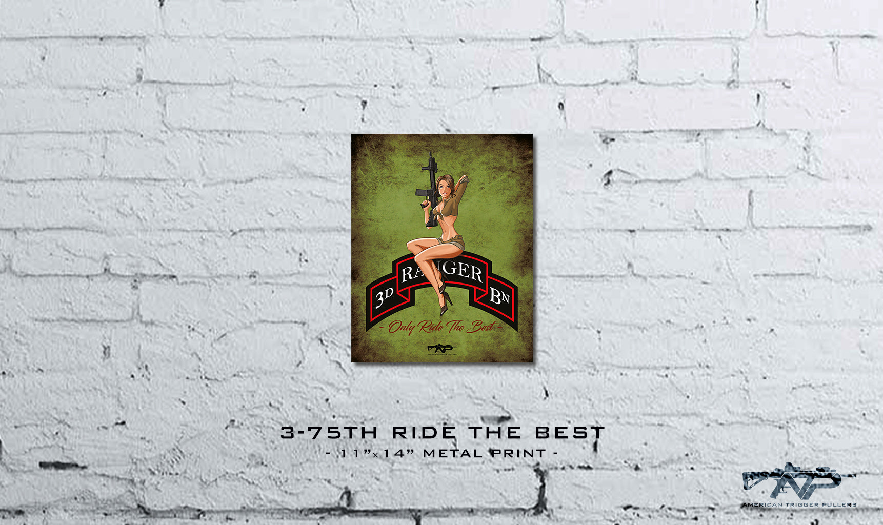 Ride The Best Metal Print