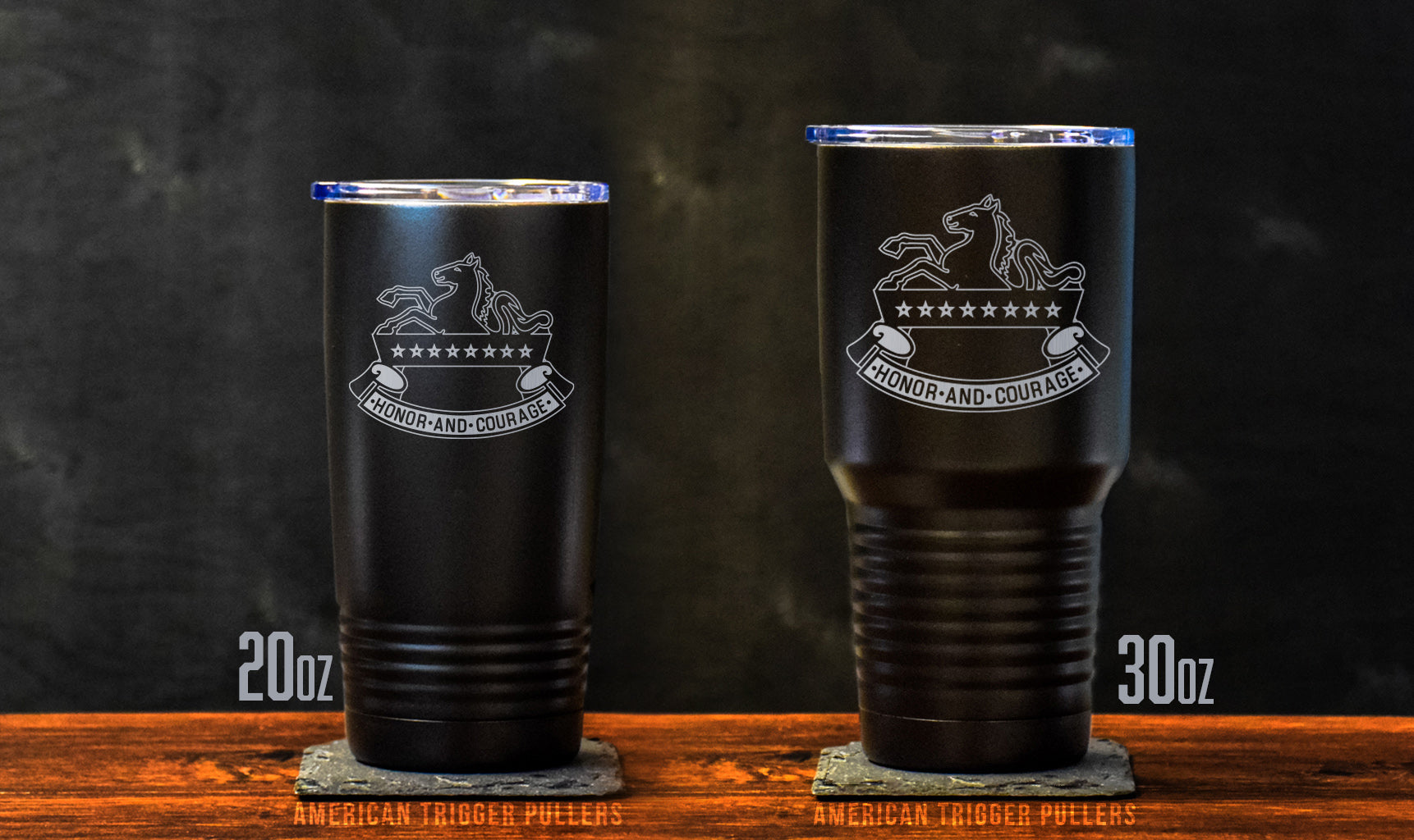 3-8 Cav Honor & Courage Tumbler
