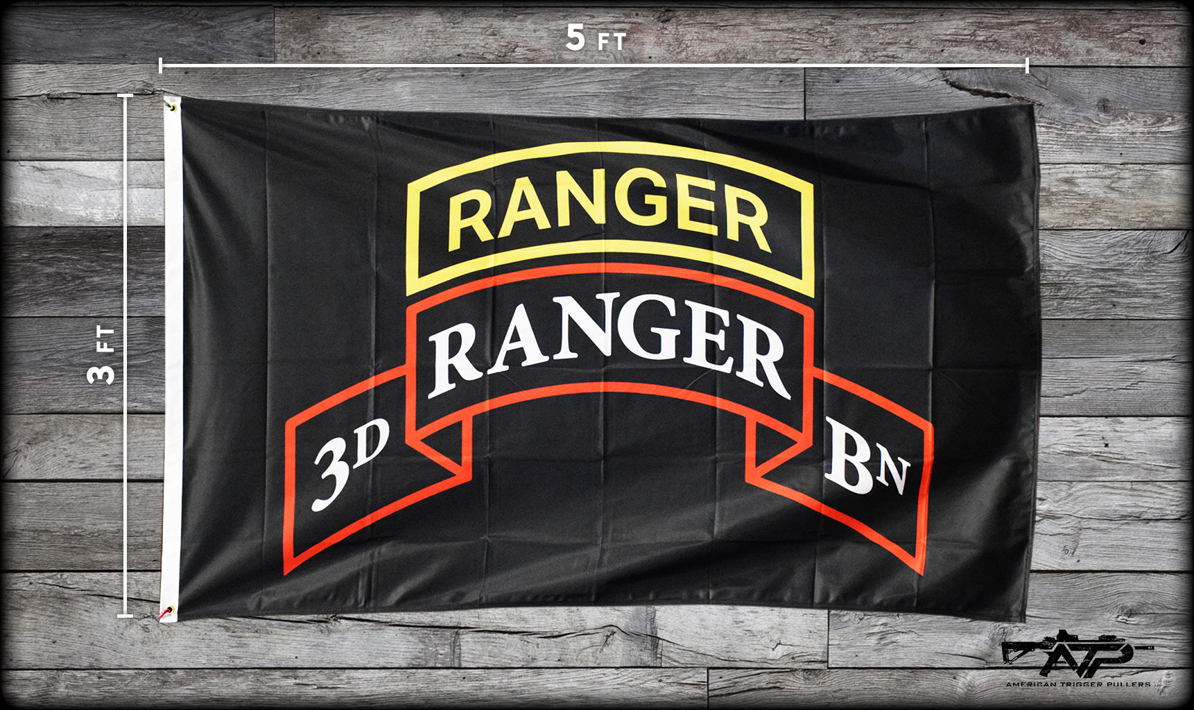Ranger Scroll Double Sided