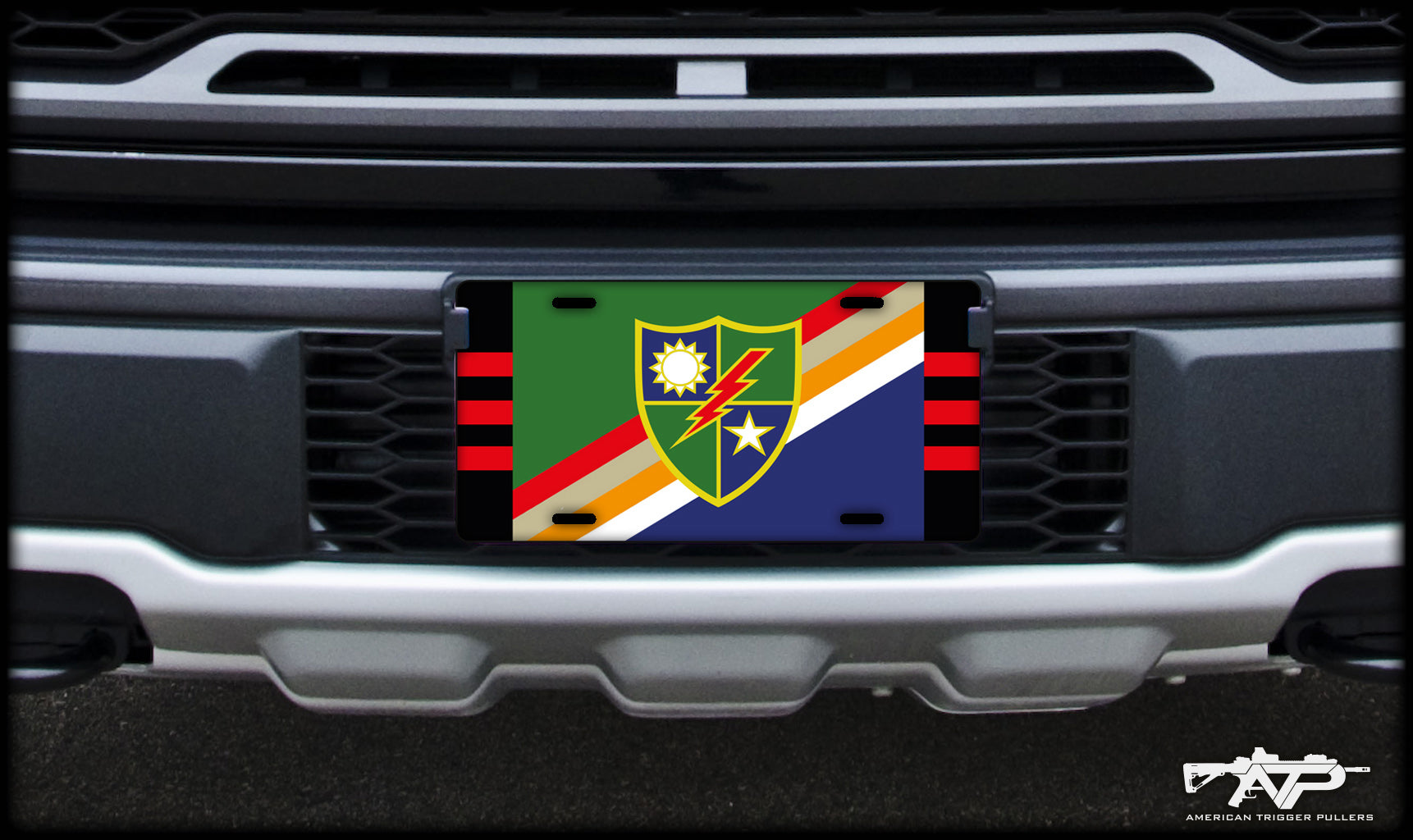 Ranger Flash License Plate