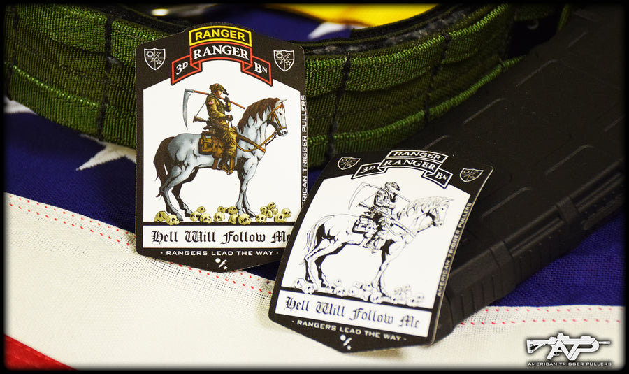 Ranger Tarot Death Card Sticker