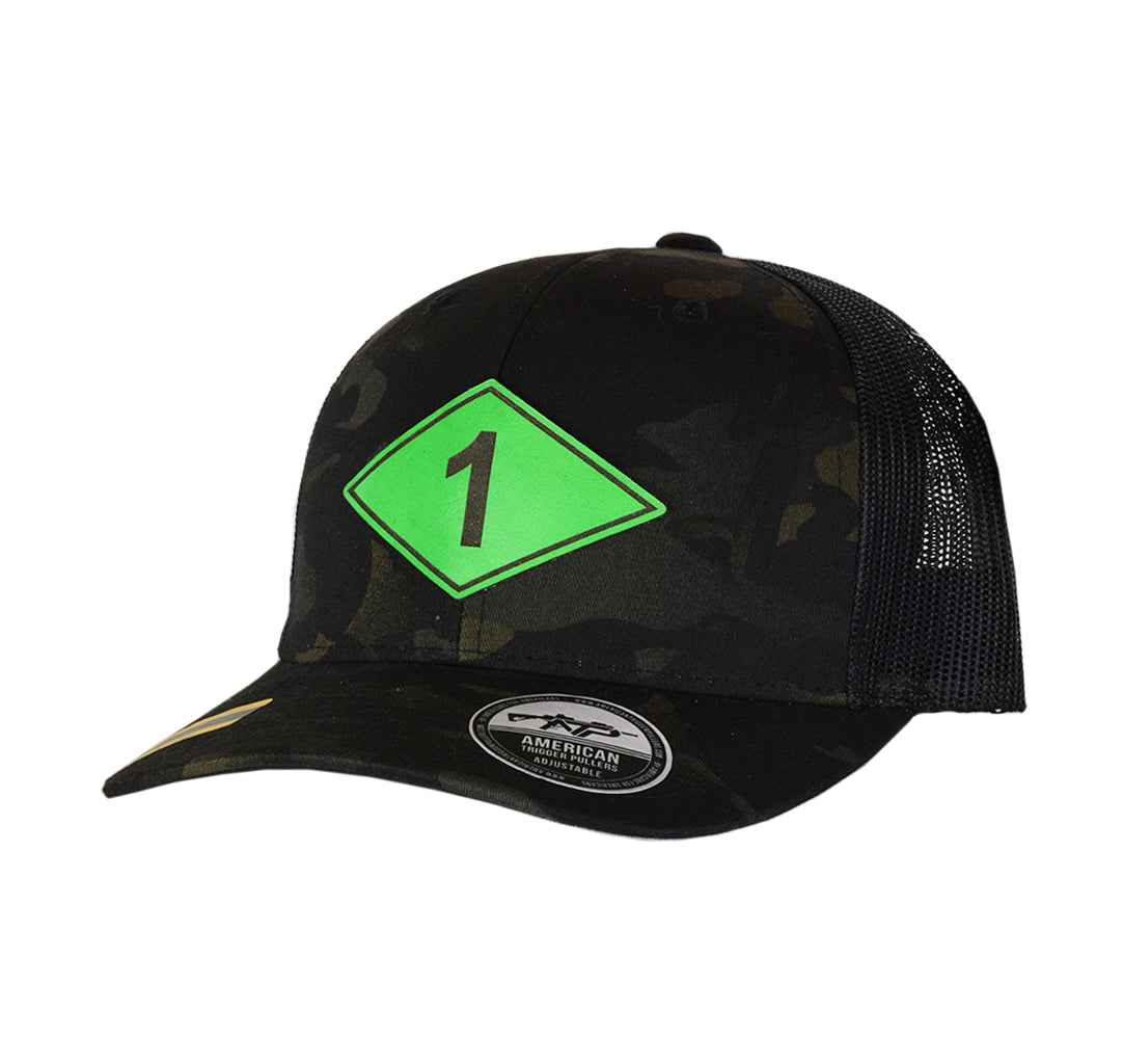 Ranger Diamond Leather SnapBack