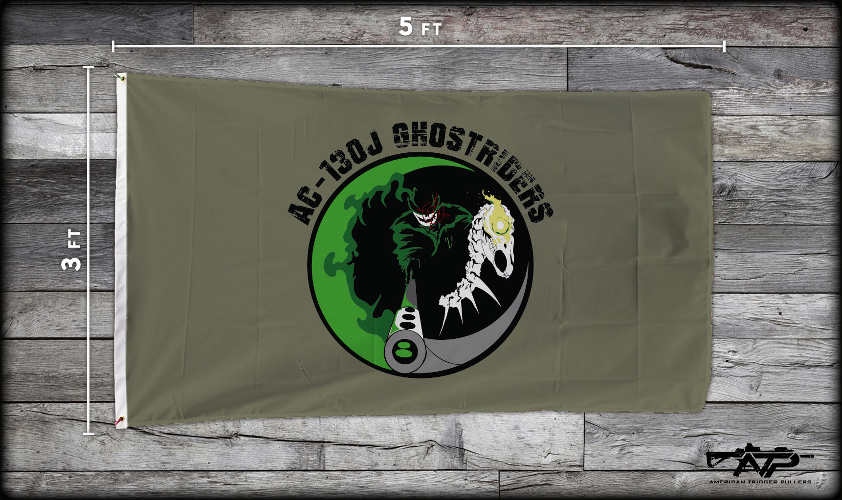 73rd Ghostriders Flag