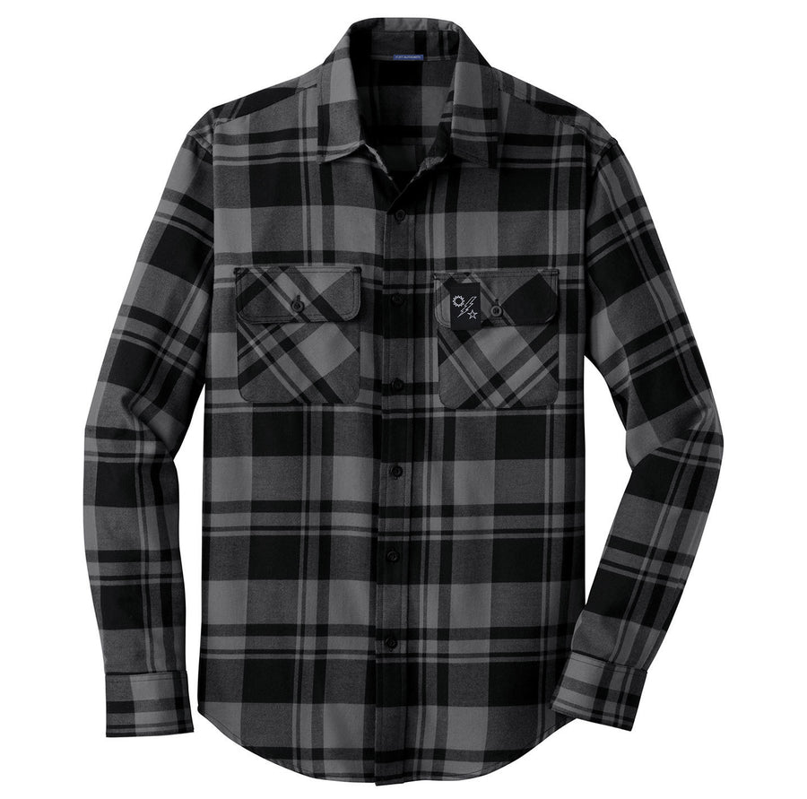 75th Star Sun Bolt Tag Flannel